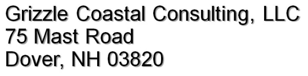 Grizzle Coastal Consulting, LLC 75 Mast Road Dover, NH 03820